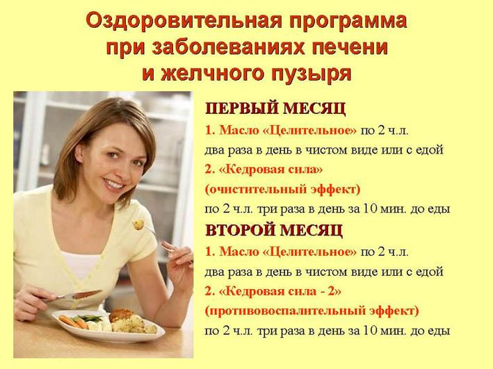 диета при желчном пузыре