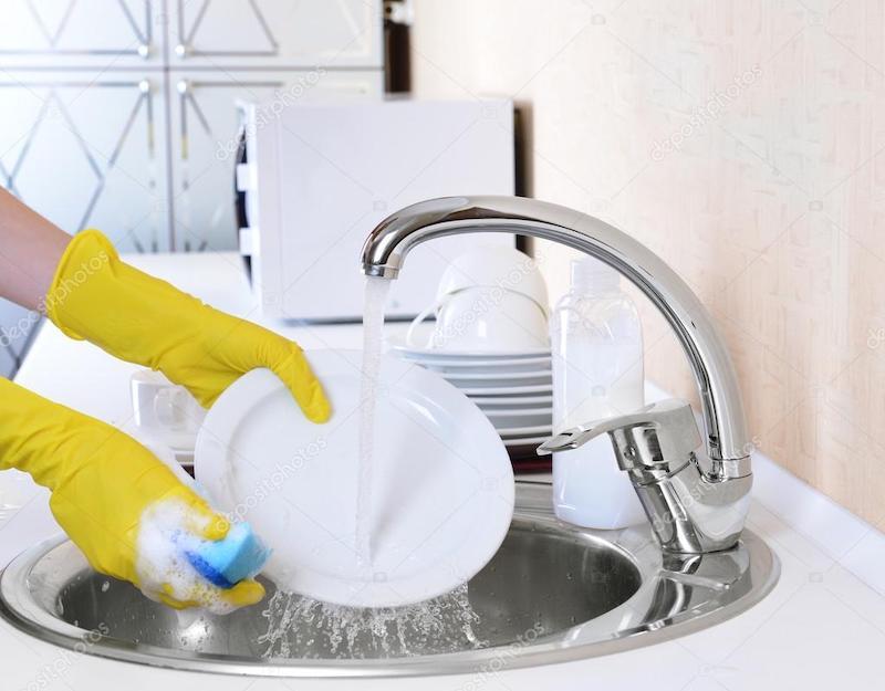 Безопасное средство для мытья посуды